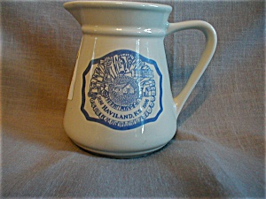 Haviland, Ks Centennial Milk Pitcher