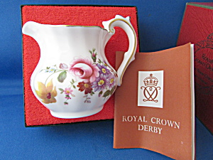 Royal Crown Derby China Creamer (Image1)