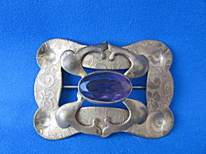 Large Victorian Sash Pin