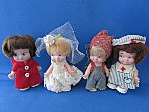 Four Uneeda Pee Wee Dolls (Image1)
