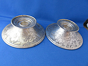Tapestry Metal Candle Holders (Image1)