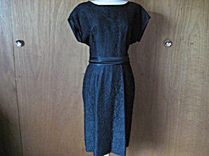 50's Lace Cocktail Dress. (Image1)