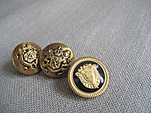 Three Gold Buttons