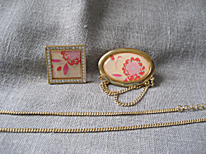 Avon Necklace/brooches