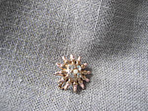 Enameled Star Hat Pin (Image1)