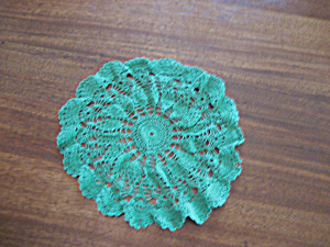 Green Doily (Image1)