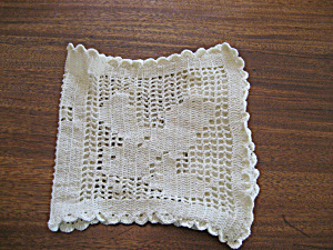 Bible Cover Doily