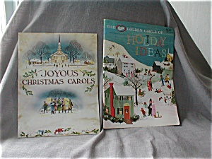 Christmas Carol Book And Holiday Ideas Book