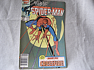 The Web of Spiderman, Crossfire (Image1)