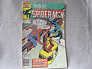 The Web of Spiderman, Mayhem over Manhattan (Image1)