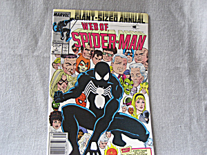 Web Of Spiderman, Giant Size Annual