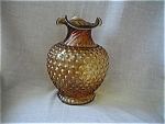 Click here to enlarge image and see more about item 1068: Fenton Hobnail Vase