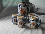 Click to view larger image of Stein Pitcher and Four Matching Mugs (Image1)