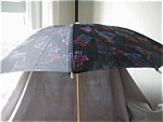 Umbrella with Bakelite Handle and Tips