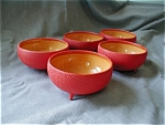 Retro Meriann Footed Bowls