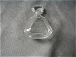 Pressed Crystal Perfume Bottle
