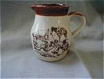 Enesco Western Style Miniature Milk Pitcher