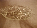 Click here to enlarge image and see more about item 1589: Early American Prescut Relish Dish