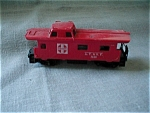 Click here to enlarge image and see more about item 1683: Tyco Red Santa Fe Caboose