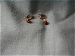 Gold Stone Earrings
