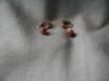 Click to view larger image of Gold Stone Earrings (Image2)