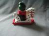 Click to view larger image of Santa on a Rocking Horse Candle (Image2)