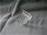 Tiara Clear Glass Spade Shaped Trays
