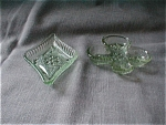 Chantilly Green Diamond and Club Mini Tray