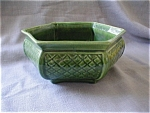 Click here to enlarge image and see more about item 2048: Haeger Green Planter