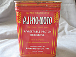 Click here to enlarge image and see more about item 2071WM: Aji-No-Moto Tin