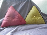 Click here to enlarge image and see more about item 2156: 1960's Art Deco Pillows