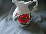 Hand Painted Miniature Milk Pitcher