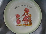 Holly Hobbie Mother's Plate