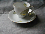 Click here to enlarge image and see more about item 2436: Retro Cup and Saucer Set