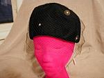 Black Velvet Suzanne Hat