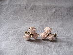 Three Flower Earrings
