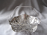 Click to view larger image of Silver Plated Basket (Image1)