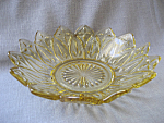 Gold Glass Candy Dish