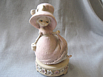 Bonnet Girl Music Box