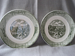 Currier and Ives Bowls