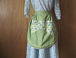 Click to view larger image of Green Homemade Apron (Image1)