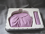 Avon Lilac Leather Purse and Lipstick Holder