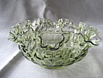 Fenton Thumbprint Bowl
