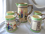 Stein Pitcher Set