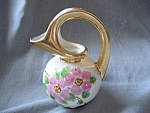 Click to view larger image of Hand Painted 22K Gold Pitcher (Image1)