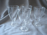 Set of Four Anchor Hocking Boopie Glasses