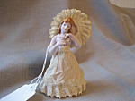 Click to view larger image of Lace Victorian Figurine (Image1)