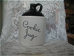 Click here to enlarge image and see more about item 313: Cookie Jug Cookie Jar