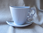 Cup and Saucer Wall Pocket