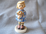 Click to view larger image of Hummel 239A Girl Figurine With Nosegay (Image1)